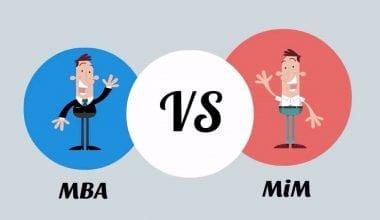 MBA vs MIM