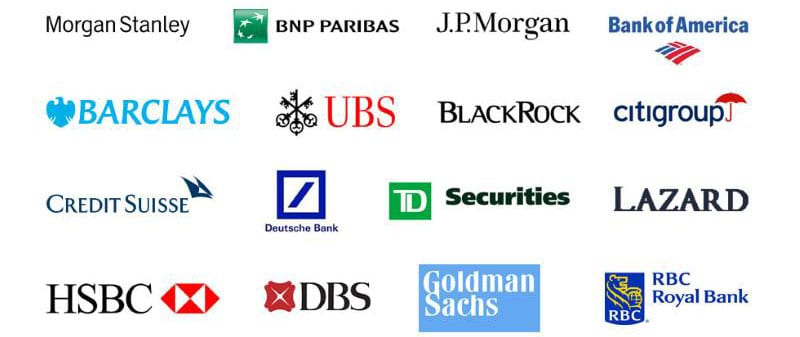 Investment banks investing in cryptocurrencies