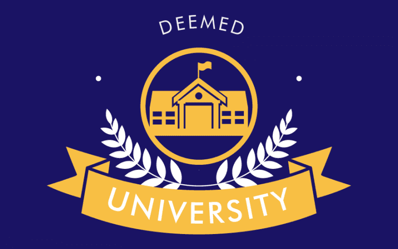Meaning of Deemed University