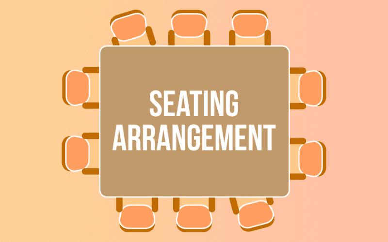 Seating Arrangement Questions
