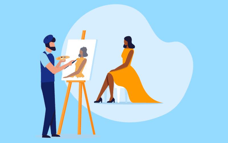 Career in Painting
