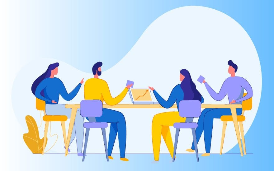 let the discussion flow for an effective meeting