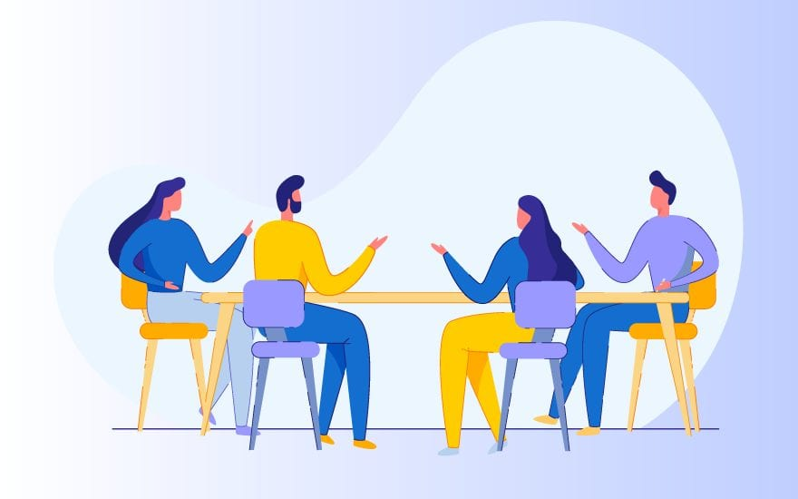 How to Start a Group Discussion: Starting Lines, Topics - Leverage Edu