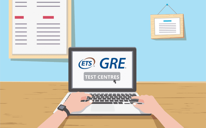 GRE Test Centres