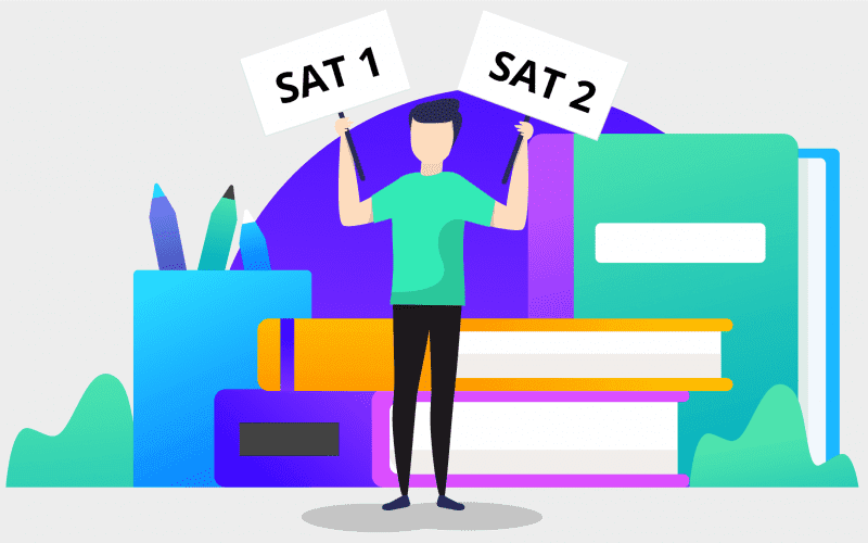 SAT1 and SAT2 difference
