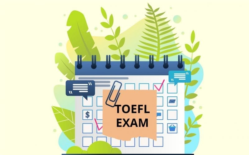 TOEFL Exam Dates
