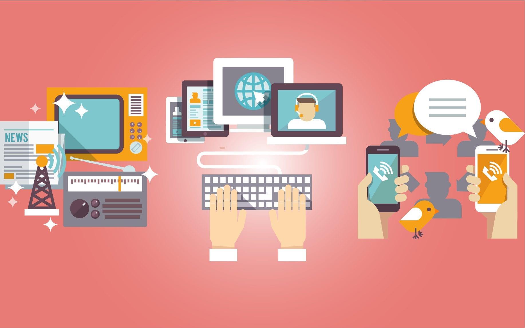 Media Convergence Meaning, Types, Examples, Benefits - Leverage Edu