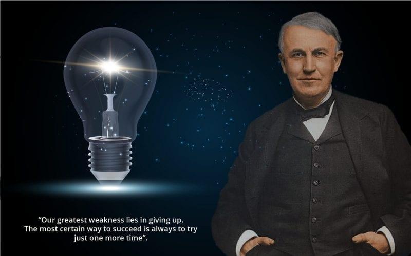 Education of Thomas Alva Edison