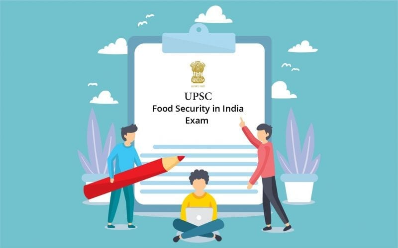 Food Security in India for UPSC Exams