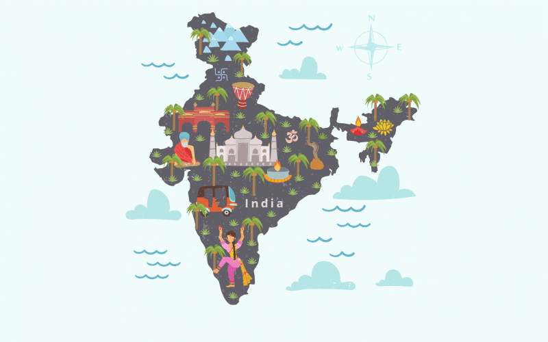 India-Size and Location