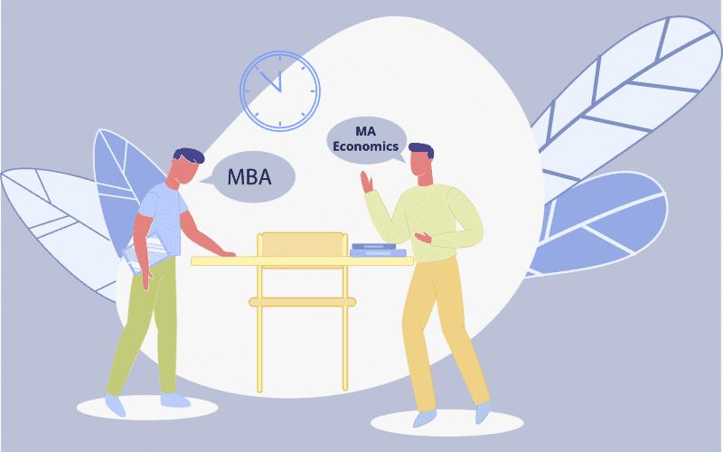 MBA vs MA Economics