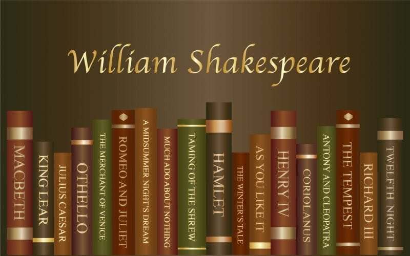 Famous Books by Shakespeare