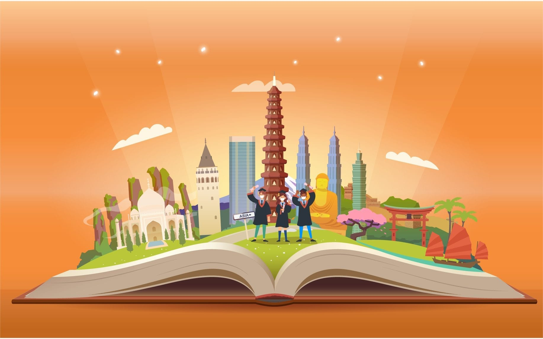 Best Countries to Study in Asia