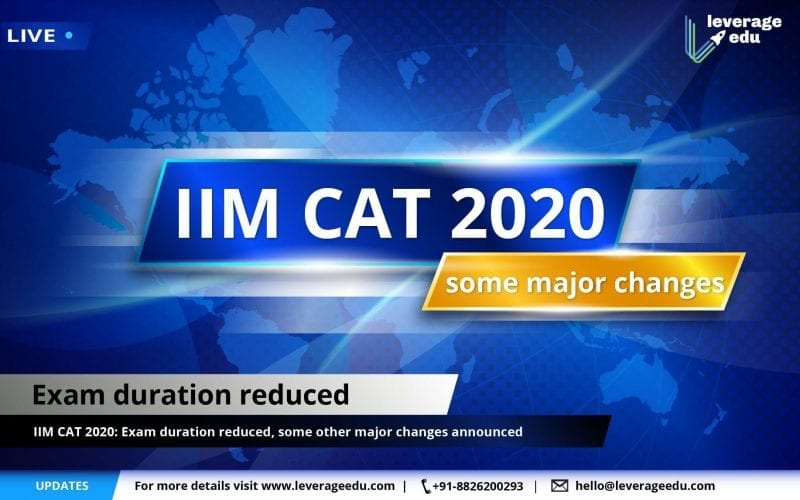 CAT major changes