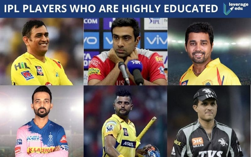 IPL Players who are highly educated