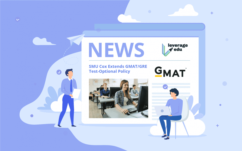 SMU Cox Extends GRE-GMAT Test Optional Policy