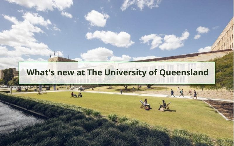 What's New at The University of Queensland