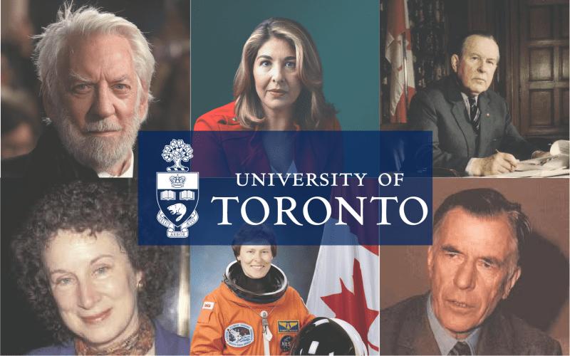 university of Toronto notable alumni