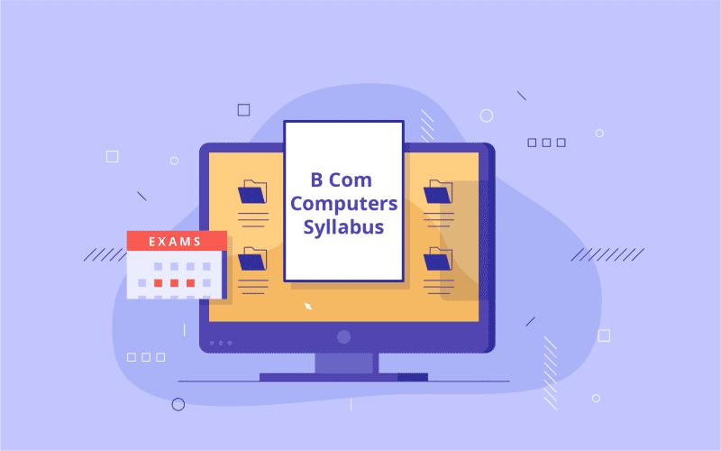 B Com Computers Syllabus