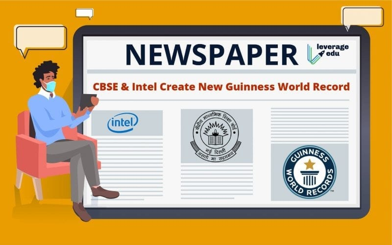 CBSE and Intel Create New Guinness World Record