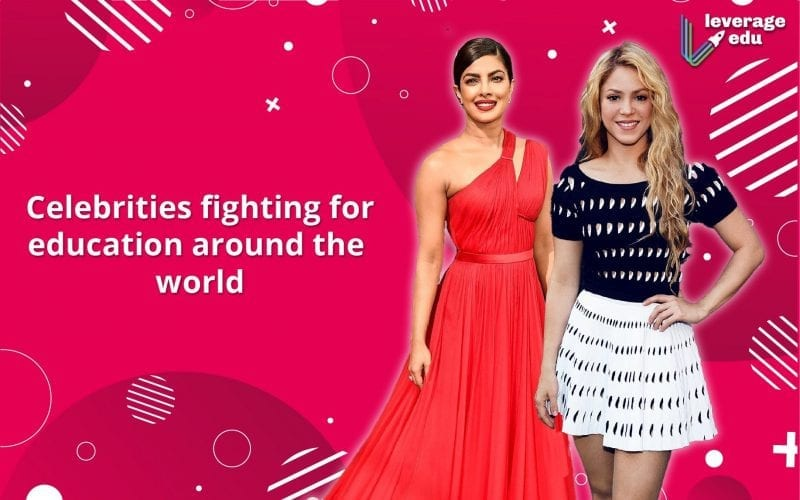 Celebrities Fighting for Education Around the World