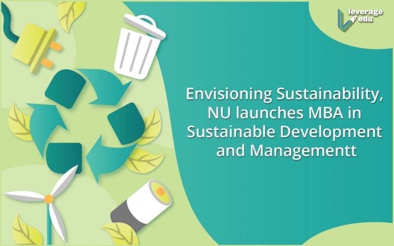 NU launches MBA in Sustainable Development and Management