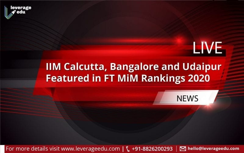 FT MiM rankings 2020
