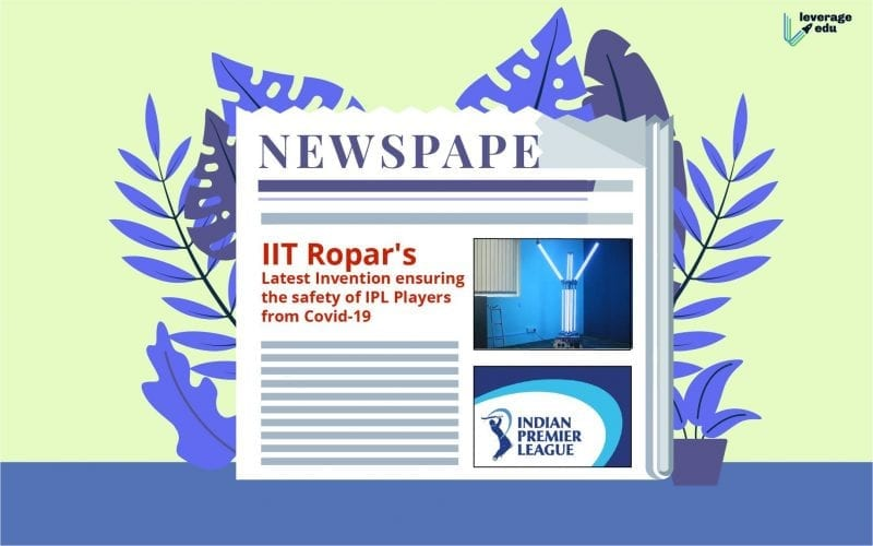 IIT Ropar's Latest Invention and IPL Players