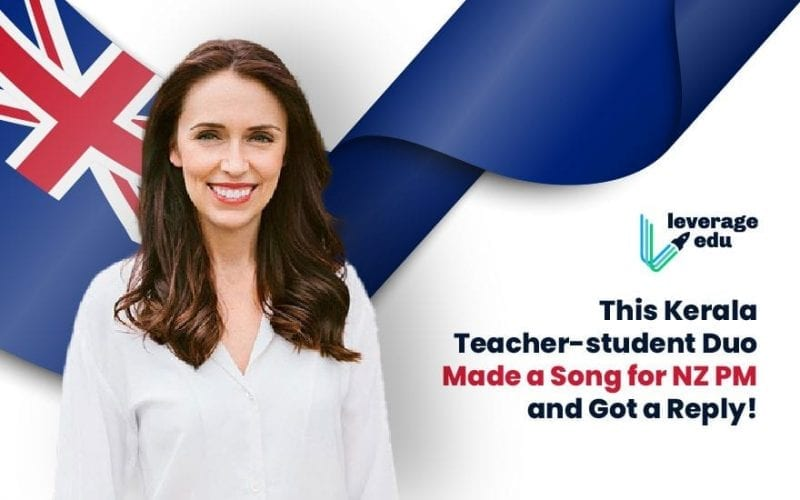 Kerala Teacher-Student Duo Made a Song for NZ PM