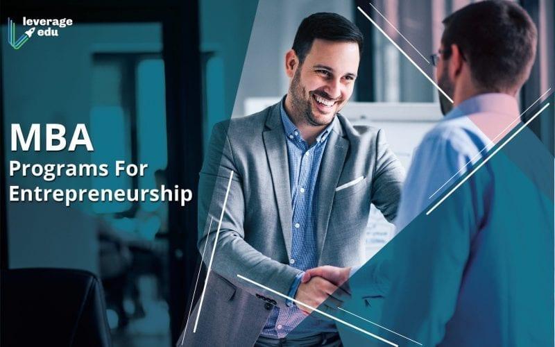 MBA Programs For Entrepreneurship