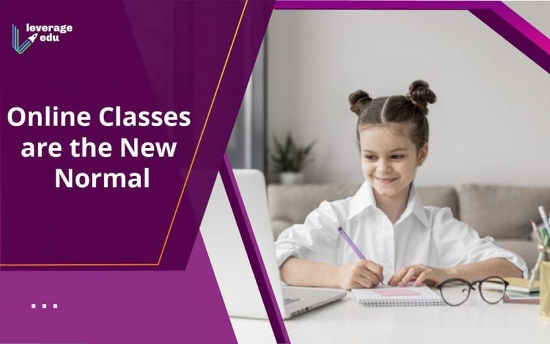 Online classes are the new normal