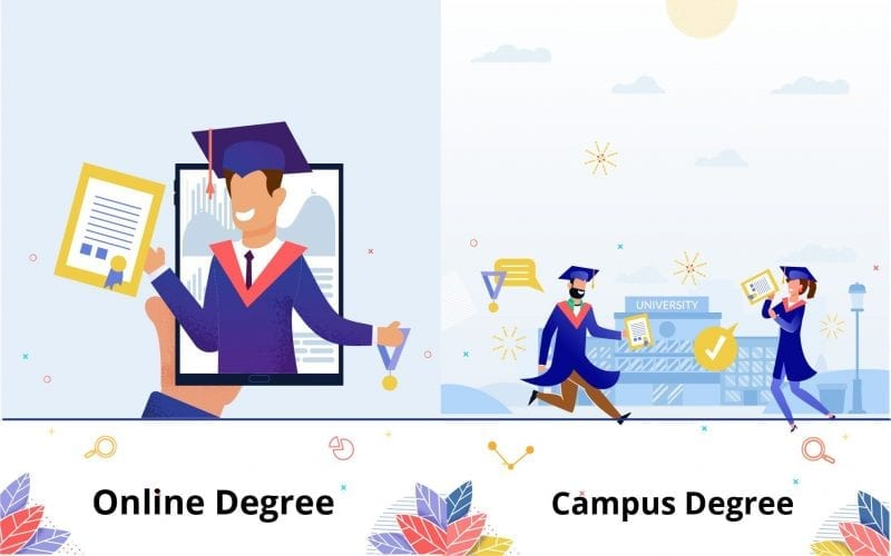Online Degree vs Campus Degree