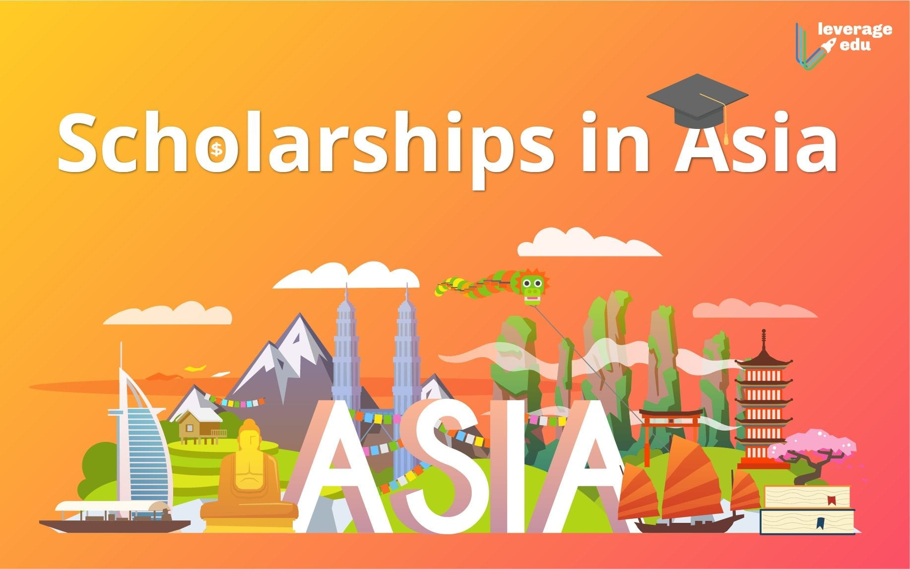 Best Scholarships in Asia for Indian Students