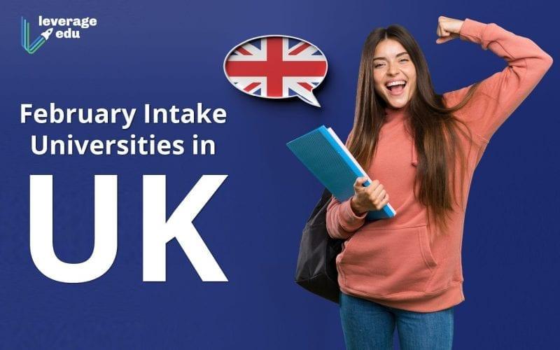 February Intake Universities in UK