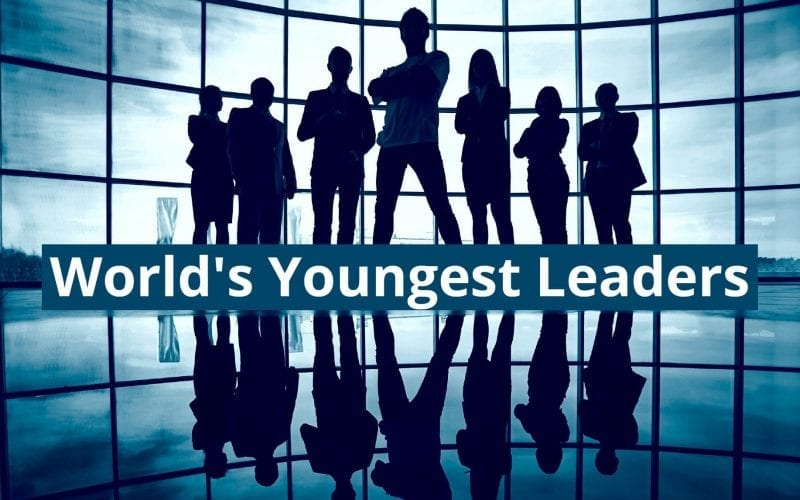 world's youngest leaders