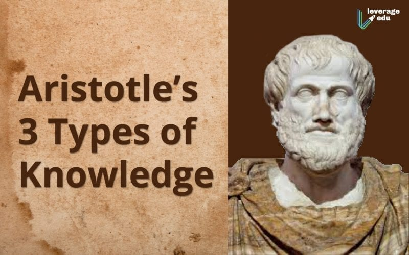 Aristotle's 3 Types of Knowledge