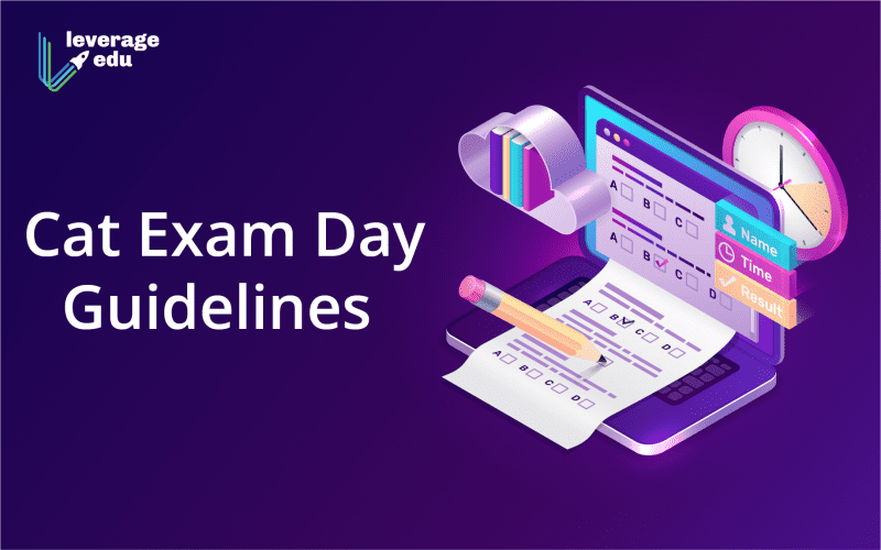 Cat Exam Day Guidelines