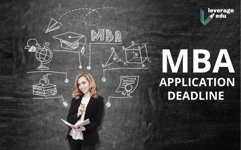 MBA Application Deadline