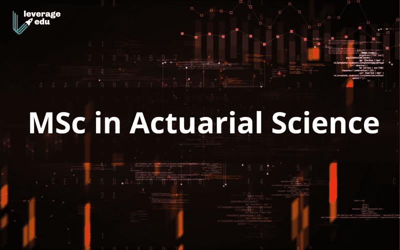 MSc in Actuarial Science