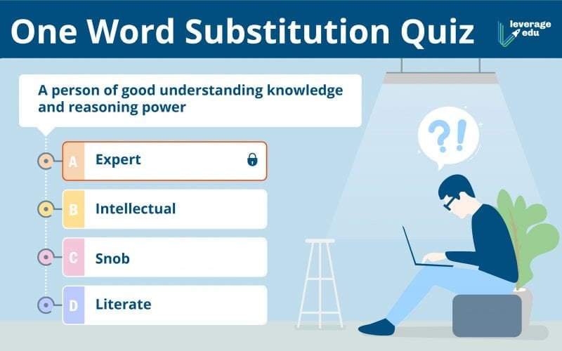 One word Substitution Quiz
