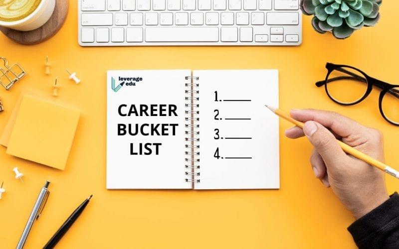 Career Bucket List
