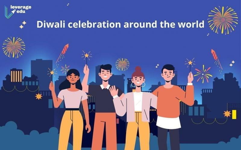 diwali celebration around the world