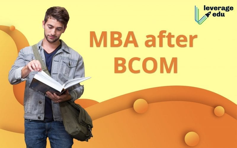 MBA After BCom