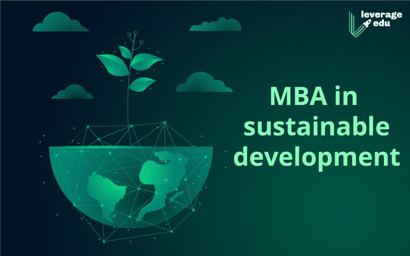 mba in sustainable development