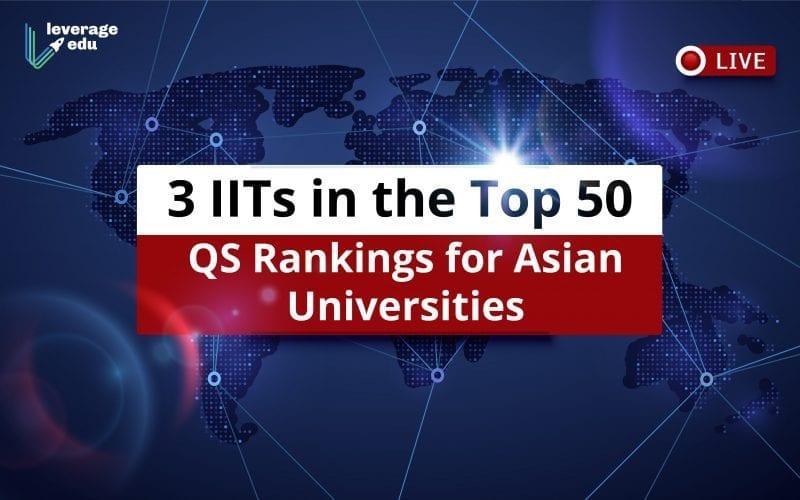 QS Rankings for Asian Universities