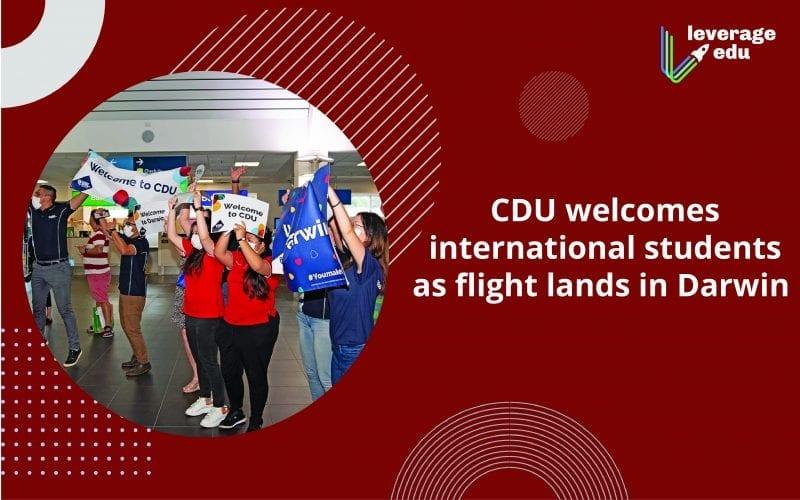CDU welcomes international students