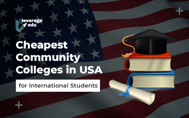 Cheapest Community Colleges in USA for International Students