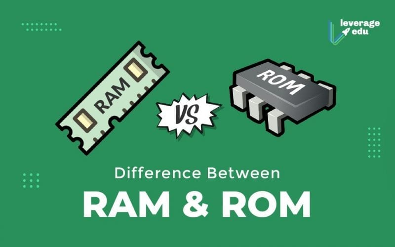 Difference Between RAM & ROM.
