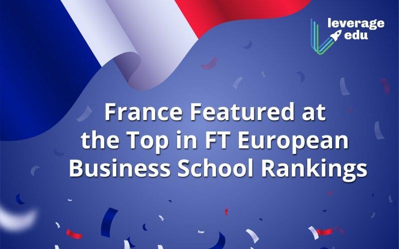 FT European Business School Rankings