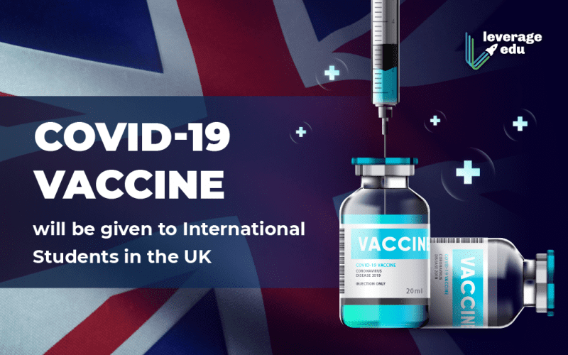 International Students in UK to Get COVID-19 Vaccine